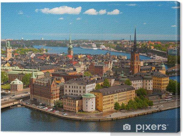 Canvastavla Stockholm, Gamla stan - Europa