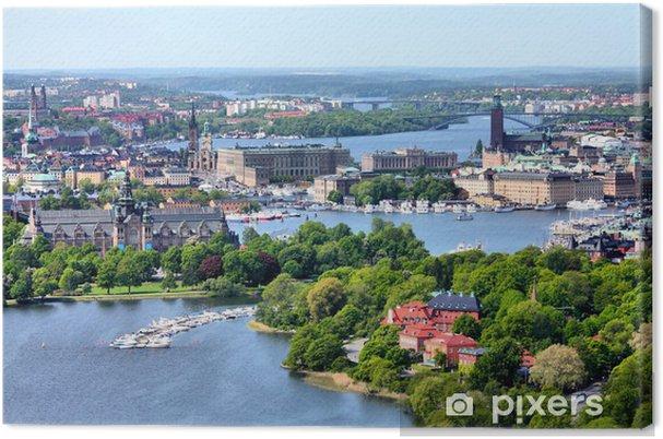 Canvastavla Stockholm - Europa