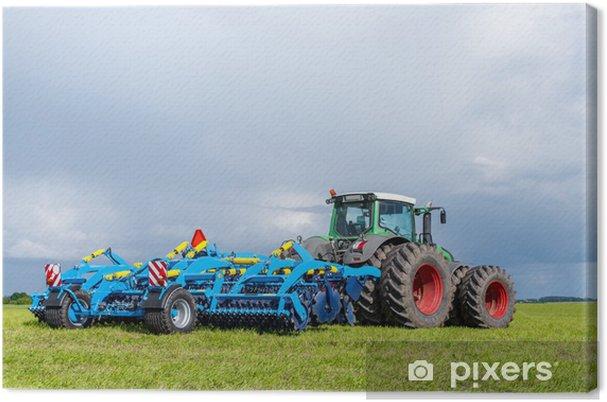 Canvastavla Traktor - Teman