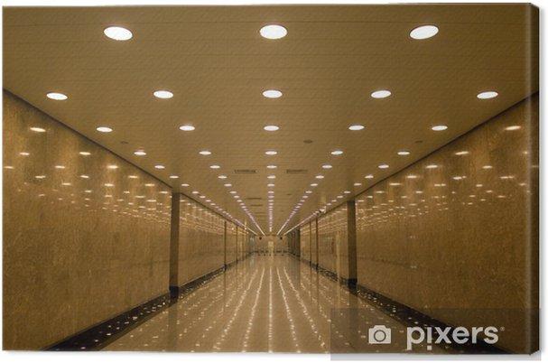 Canvastavla Tunnel av ljus - Teman