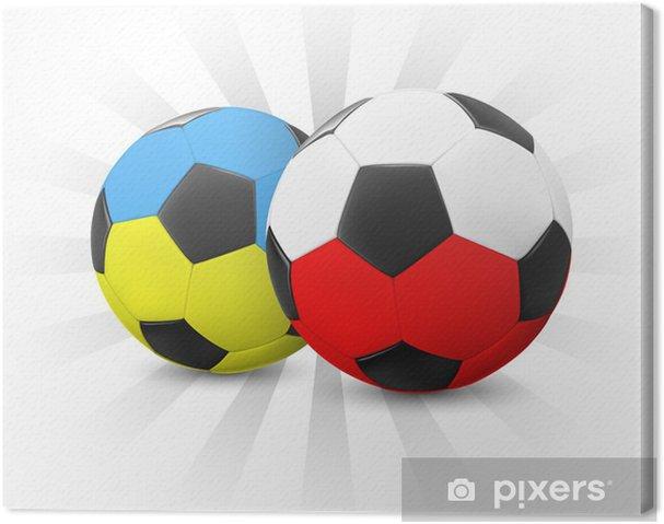 Canvastavla Ukraina och Polen Fotboll • Pixers® - Vi lever för ... 42826dad59c21