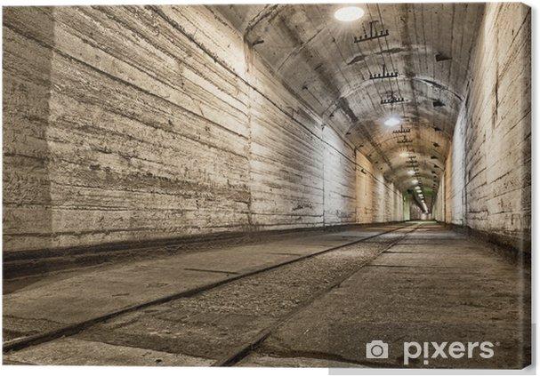 Canvastavla Underjordisk bunker från kalla kriget. Ukraina, Sevastopol - Teman