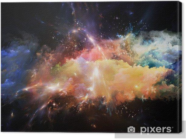 Canvastavla Uppkomsten av Space - Teman