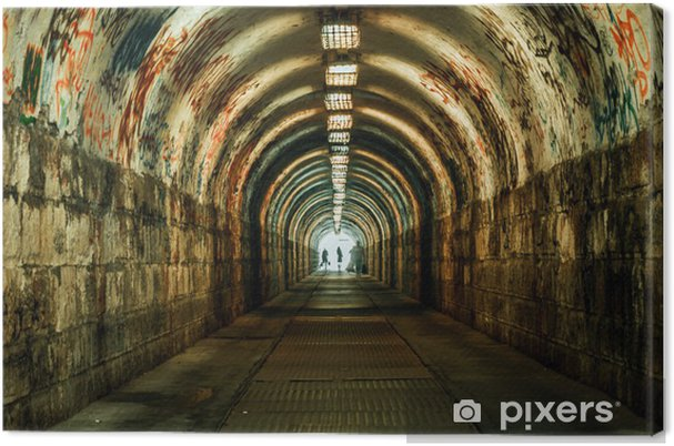 Canvastavla Urban jordisk tunnel - Teman
