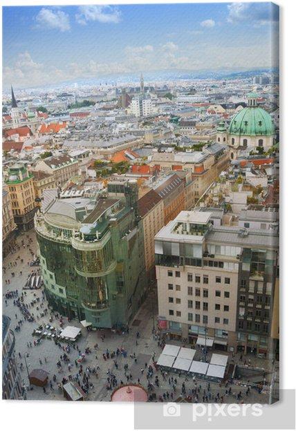 Canvastavla Utsikten från Stefansdomen