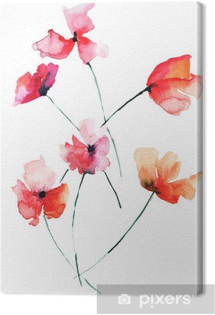 Canvastavla Vackra blommor - Blommor