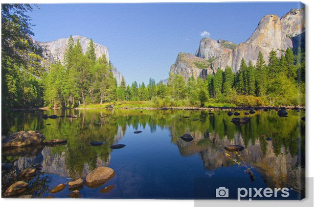 Canvastavla Yosemite - Teman