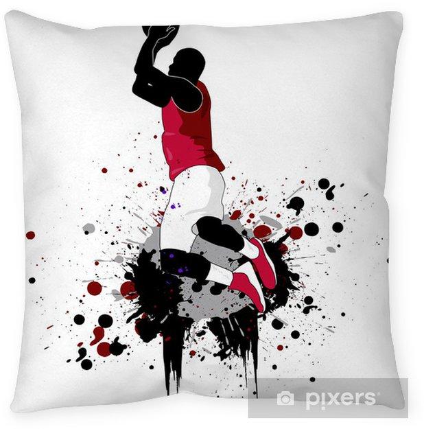 Cojín decorativo Jugador de baloncesto - Baloncesto