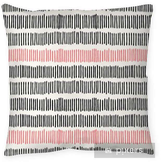 Cojín decorativo Líneas abstractas Seamless pattern. - Estilos