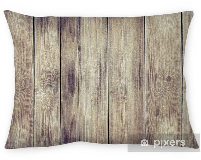 Cojín decorativo Manchado la pared de madera de textura de fondo - Temas