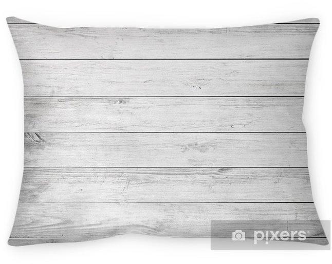 Cojín decorativo Tablones de madera blanca, tablero de la mesa, superficie del piso o pared. - Recursos gráficos