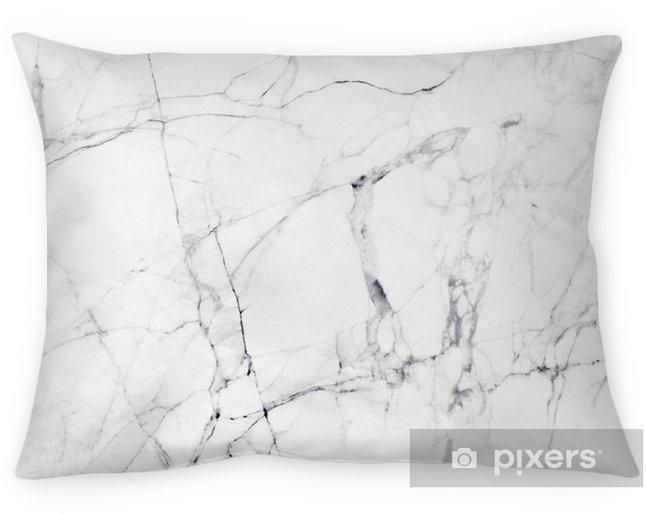 Cojín decorativo Textura y fondo de mármol blanco. - Recursos gráficos