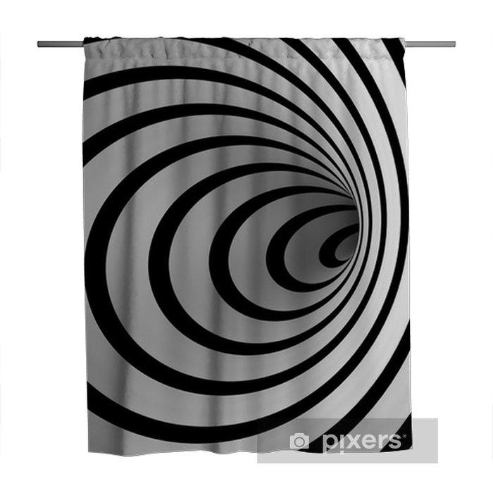 Cortina de ducha Espiral Warped - Ilusión