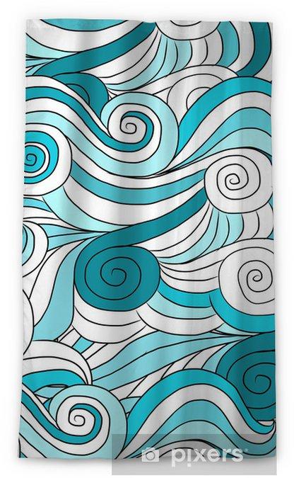 Cortina opaca Patrón de onda de fondo para su diseño - Fondos