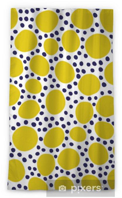 Cortina opaca Patrón transparente con elementos florales y abstractos modernos en colores pastel frescos. - Hobbies y entretenimiento