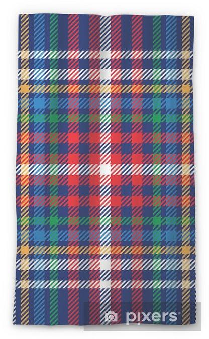 Cortina transparente Vector patrón de tela escocesa de tartán sin fisuras - Recursos gráficos