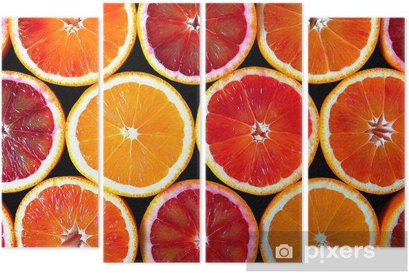 Cuadríptico Naranjas -