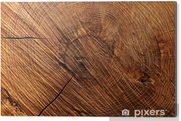 Cuadro en Dibond Fondo de madera - Temas