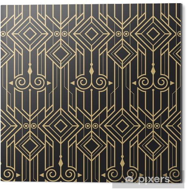 Cuadro en Dibond Patrón abstracto moderno art deco abstracto - Recursos gráficos
