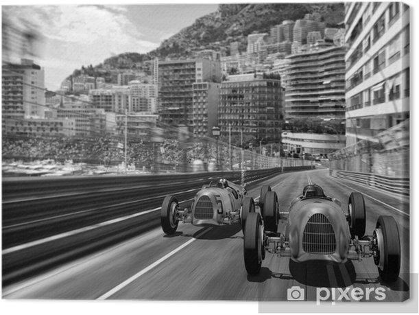 Cuadro en Lienzo 132b carscene - Fórmula 1