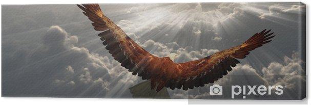Cuadro en Lienzo Águila en vuelo sobre las nubes - Temas