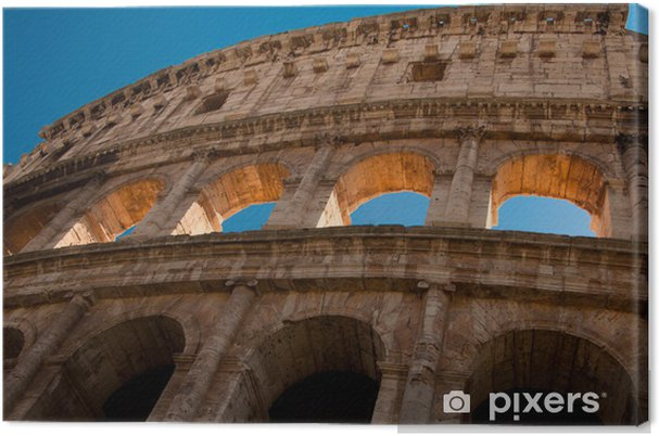 Cuadro En Lienzo Anfiteatro Romano Antiguo Coliseo Roma Pixers