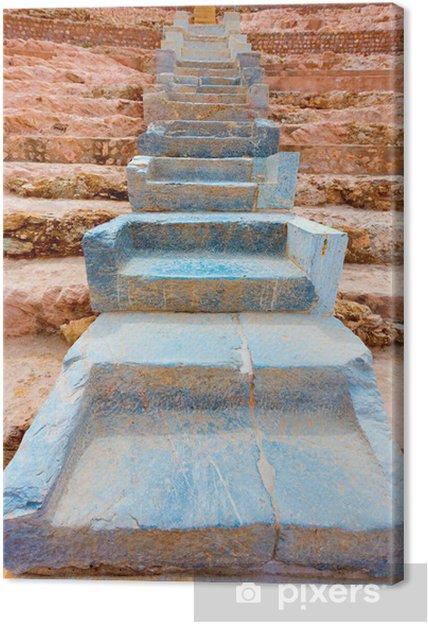 Cuadro en Lienzo Anfiteatro Romano de Cartagena en Murcia España - Europa