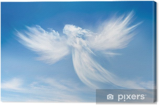 Cuadro en Lienzo Ángel en las nubes - Religión