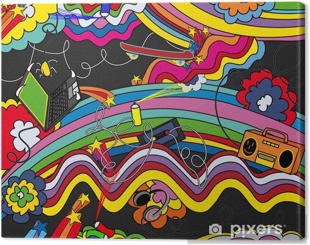 Cuadro en Lienzo Antecedentes del arte pop - Estilos