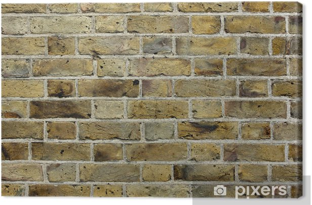Cuadro en Lienzo Antiguo muro de ladrillo textura de fondo - Texturas