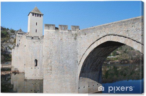 Cuadro en Lienzo Arche du Pont Valentré - Vacaciones