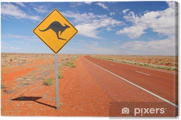 Cuadro en Lienzo Australianos caminos sin fin - Temas