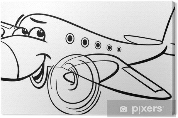 Avion Caricatura Para Colorear - tongawale.com