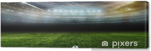 Cuadro en Lienzo Bal.football fútbol .. - Deportes