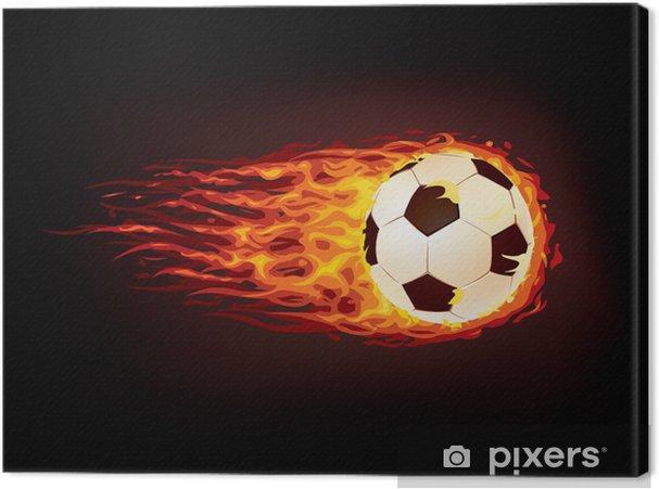 Cuadro en Lienzo Balón de fútbol - Logros