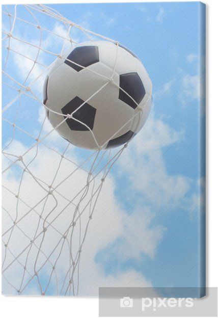 Cuadro en Lienzo Balón de fútbol - Deportes de equipo