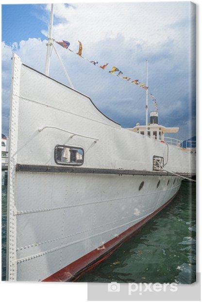 Cuadro en Lienzo Barco en el lago - Barcos