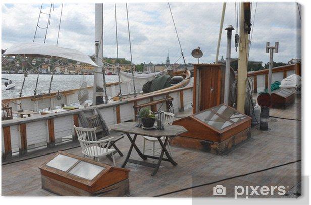 Cuadro en Lienzo Barco - Barcos