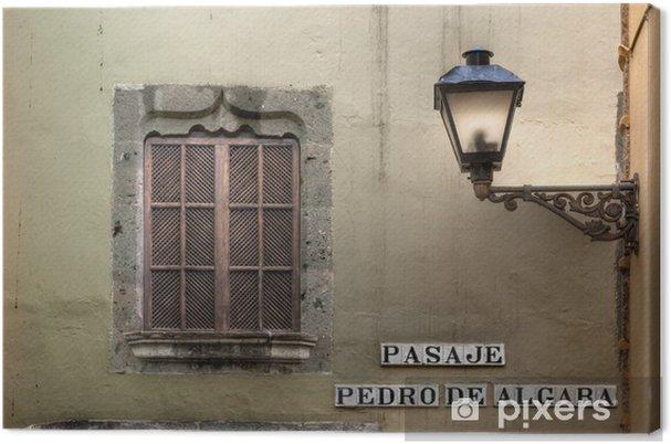 Cuadro en Lienzo Barrio de Vegueta, Las Palmas - Vacaciones