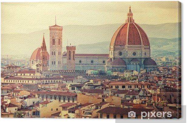 Cuadro en Lienzo Beautiful Florence - Temas