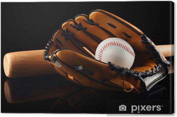 Cuadro en Lienzo Béisbol 2 - Deportes de equipo