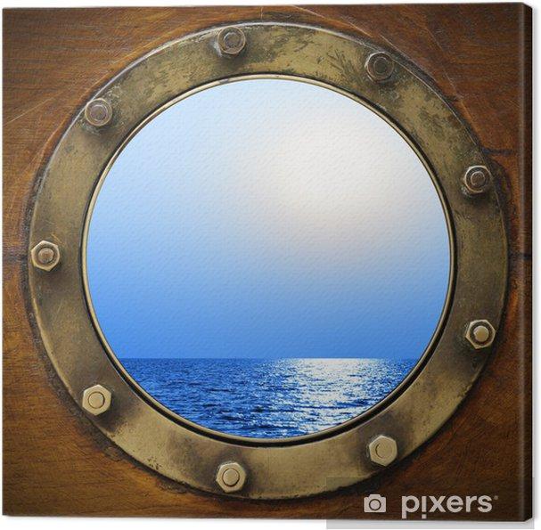 Cuadro en Lienzo Boat porthole - Estilos