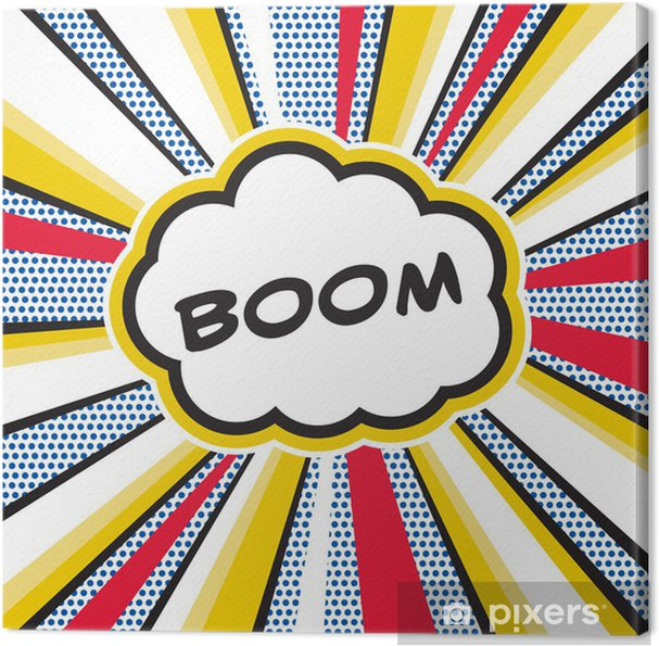 Cuadro en Lienzo Boom Pop Art - Temas
