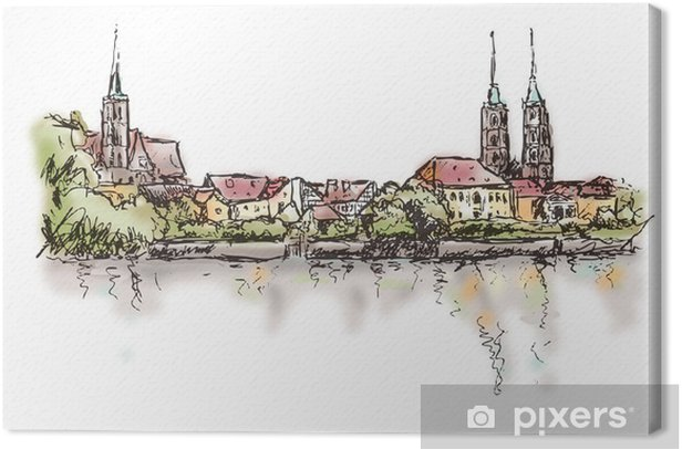 Cuadro en Lienzo Breslau-Wroclaw - Temas