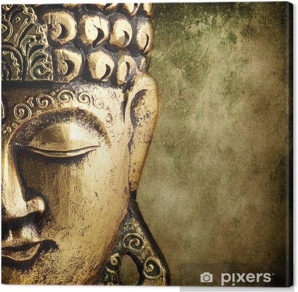 Cuadro en Lienzo Buda dorado - Estilos