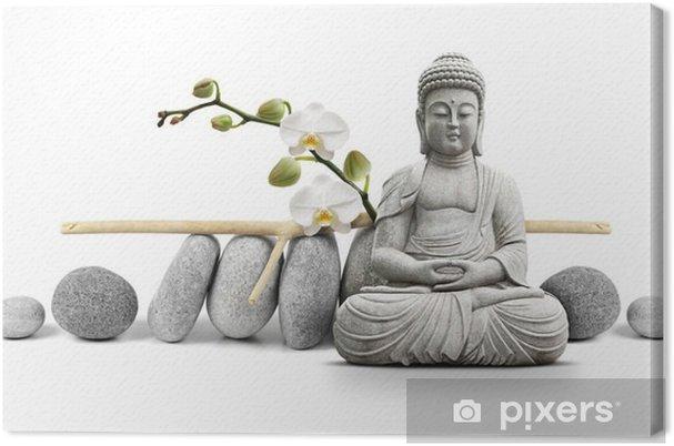 Cuadro en Lienzo Buda y Bienestar - Estilos