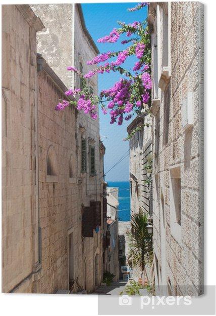 Cuadro en Lienzo Calle en Korcula, Croacia - Temas