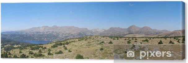 Cuadro en Lienzo Capcir - du Carlit au Pic del Palma - Montañas