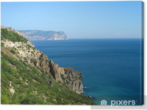 Cuadro en Lienzo Cape Fiolent, Crimea - Europa