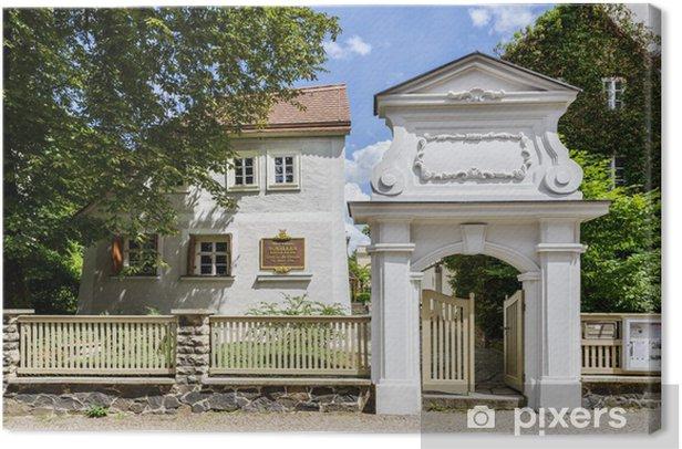 Cuadro en Lienzo Casa de Schiller, Leipzig - Europa